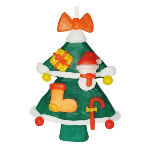 이야코 크리스마스 트리양초 (츄리양초) 만들기