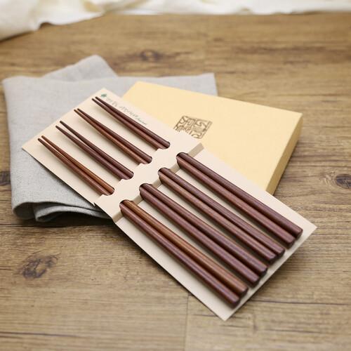 인현공방 천연옻칠 베이직 나무저분 4P