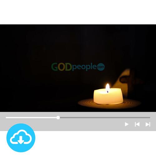 십자가 배경영상 6 by 빛나는시온 / 이메일발송(파일)