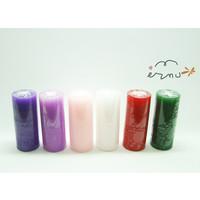 촛불 예배용 양초 (소) - 높이14.5*지름6.3cm (절기 6색상)