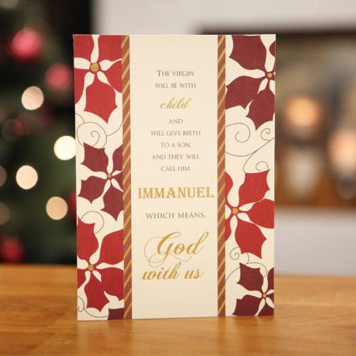 하베스터 크리스마스 카드 - 갓 위드 어스
