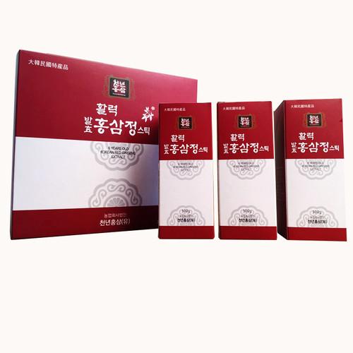 금산 장동교회 길미자 권사의 활력 발효홍삼정스틱세트 (10g*30스틱)