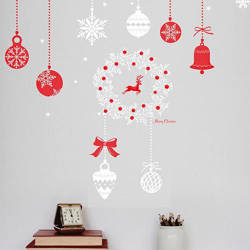 PSC-61013-61014세트 크리스마스 구슬 데코 사슴 루돌프 리스 장식