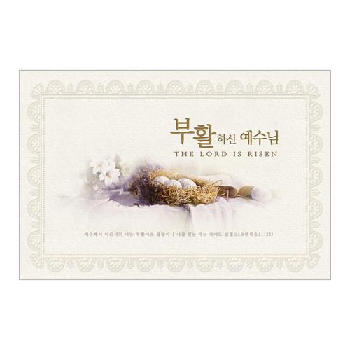부활절 카드 - 부활하신 예수님 (#9133)