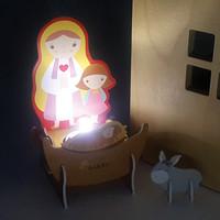 성경마을-마리아(퍼즐무드등)