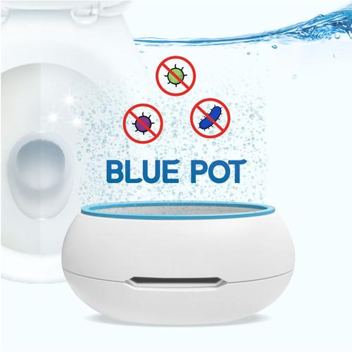 블루팟 변기 자동 살균기