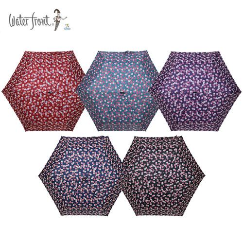 워터프론트 초경량 3단 벚꽃 UV 양우산