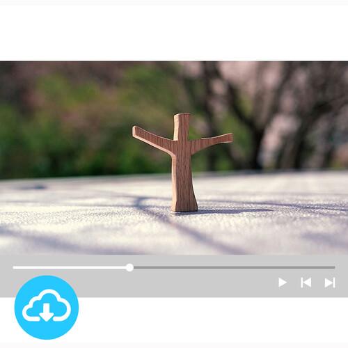 십자가 배경영상 4 by 굿픽 / 이메일발송(파일)