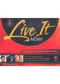 LIVE IT NOW - Dramatized NLT Audio Bible (MP3/8CD)