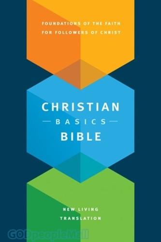 NLT: Christian Basics Bible (Hardcover, Indexed)