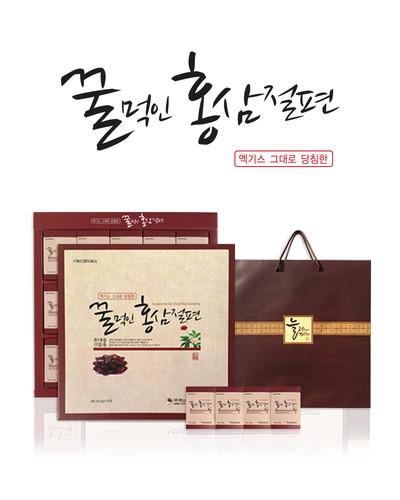 금산 축복의열매 김현 전도사의 꿀먹인 홍삼절편 선물세트