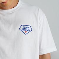 갓피플 반팔 티셔츠 - 말씀파워 예수님 (성인용)