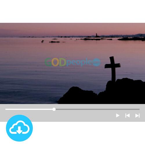 십자가 배경영상 1 by 빛나는시온 / 이메일발송(파일)
