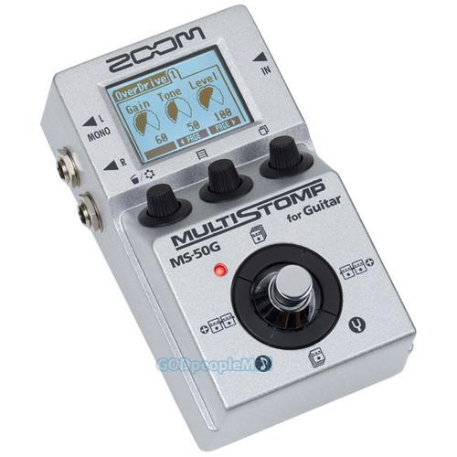 ZOOM MS-50G MultiStomp 기타 멀티 이펙터