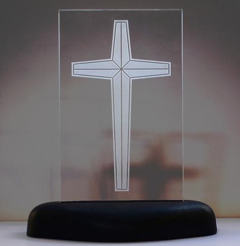 십자가 LED 무드등