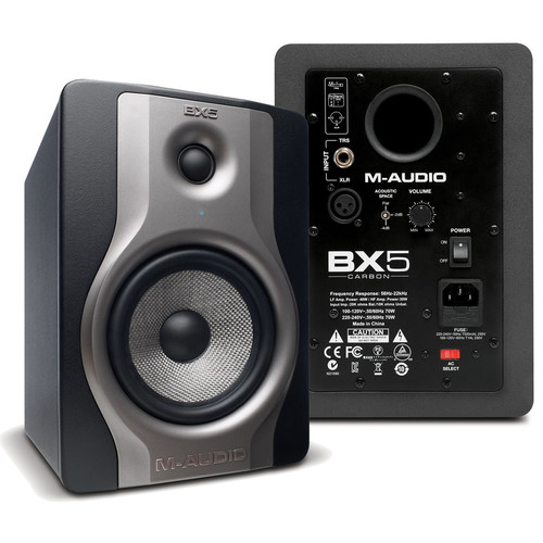M-AUDIO BX5 CARBON 엑티브 스피커 1조