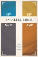 NIV, KJV, NASB, Amplified, Parallel Bible (Hardcover)