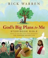 Gods Big Plans for Me Storybook Bible (HB)