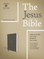 ESV: Jesus Bible, Cloth over Board, Gray