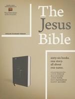 ESV: Jesus Bible, Cloth over Board, Gray