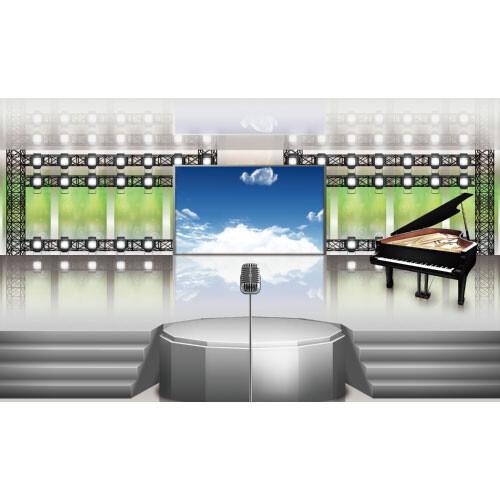 무대배경현수막(피아노)-151 ( 250 x 150 )