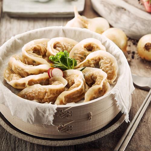 [한만두몰] 달콤한 갈비만두 1000g
