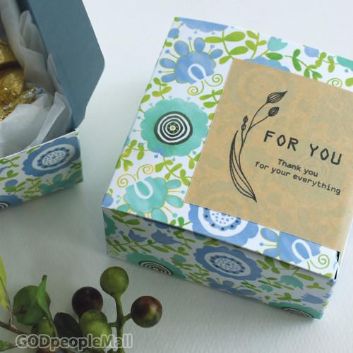 Gift box_Blue 5매_S/M/L