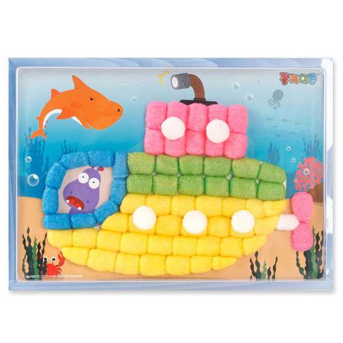 플레이콘부조액자(잠수함)