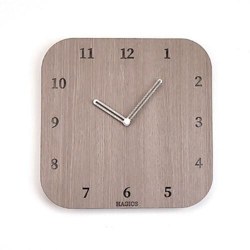 [우드 사각 벽시계] 디자인시계(JKE10)-하기오스
