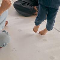 PVC 양면 바닥 매트 - 그리즐리베어