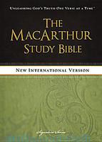 NIV MacArthur Study Bible (Hardcover)