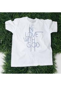 핫픽스 큐빅 티셔츠 IN LOVE WITH GOD(LC9069S)-아동용