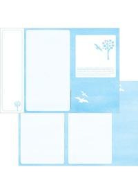 축복의주보 A4(날개형/양면) A4101S
