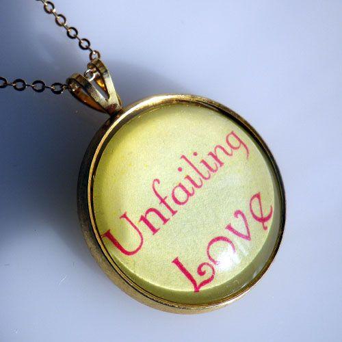 목걸이 - Unfailing Love (최고의 사랑, 주님의 사랑)