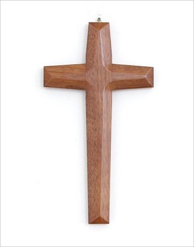 고급 원목 십자가 - 월넛 (대) / K-0092