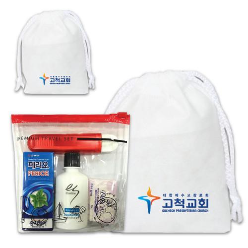 (부직포가방,무료인쇄) LG여행용 4종 2호