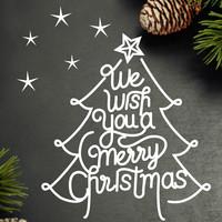 성탄절시트지_We wish your merry christmas