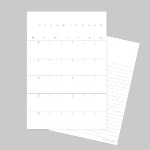 엽서형 다이어리 M-PLAN POST CARD