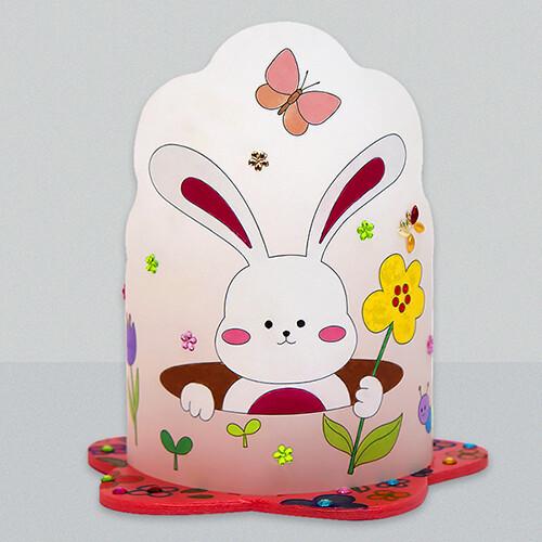 [아트공구43-2] 동물 토끼 조명등(전등갓) 만들기