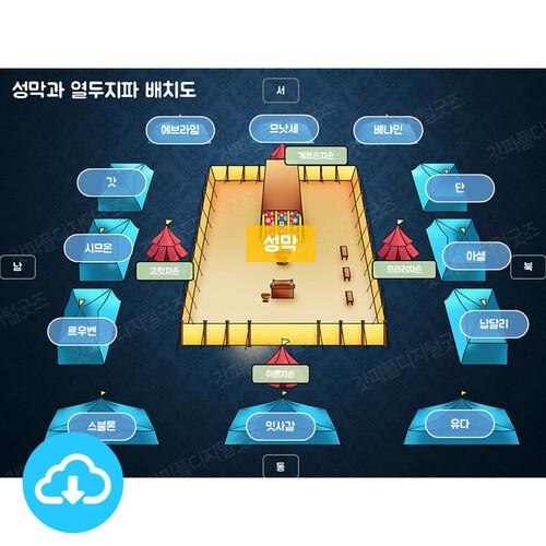 애니매이션 PPT 설교 성경이야기 49 성막은 어떻게 생겼을까요? by 갓키즈 / 이메일발송(파일)