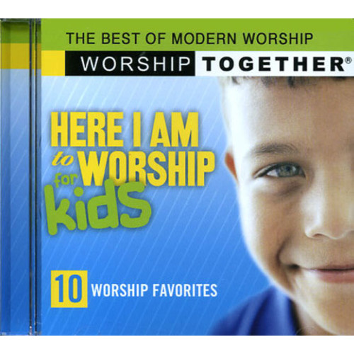 Here I Am To Worship for kids(CD)