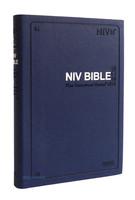 아가페 영문 NIV BIBLE 중 단본 (색인/이태리신소재/무지퍼/네이비)