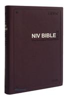 아가페 영문 NIV BIBLE 성경 중 단본(색인/이태리신소재/무지퍼/버건디)