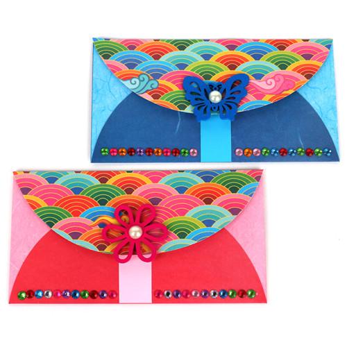 전통문양 용돈지갑  만들기 (5인용)