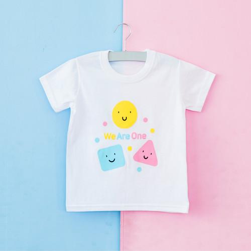 2019 글로리월드 티셔츠 - 위아원(화이트)