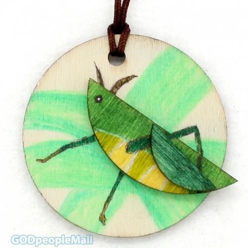 new곤충목걸이만들기-메뚜기