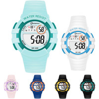 전자 손목시계  6색상 30M 방수 MR-8206 (S 사이즈)