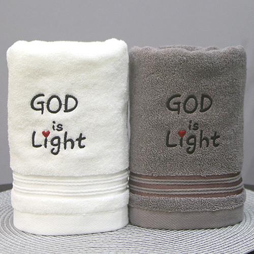 [땡큐몰]160g 교회타올(2Pset) GOD is Light (무한타올)