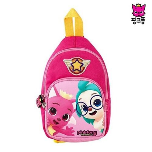 핑크퐁 원더스타 슬링 백(핑크)크로스 가방