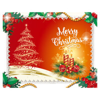 대형 배경 현수막 - 크리스마스 1519